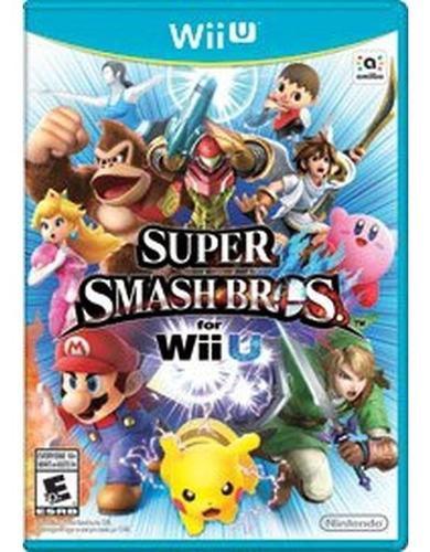 Juego Nintendo Wii U Super Smash Bros - Fisico