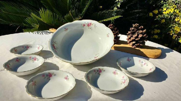 Juego Vintage porcelana Verbano