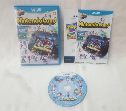 Nintendo Land Juego Para Nintendo Wii U Completo Buen Estado