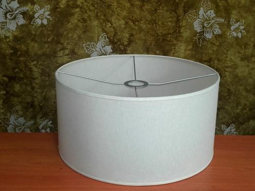 Pantalla Para Lámpara De Pie Blanca 40-40/20 Cm Alt