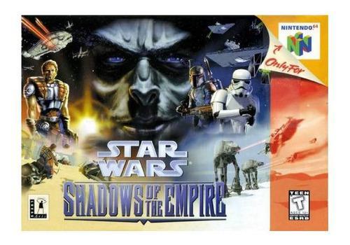 Star Wars Shadows Of The Empire Usado Nintendo 64 N64 Vdgmrs