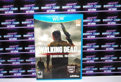 The Walking Dead Wii U Nintendo Juego