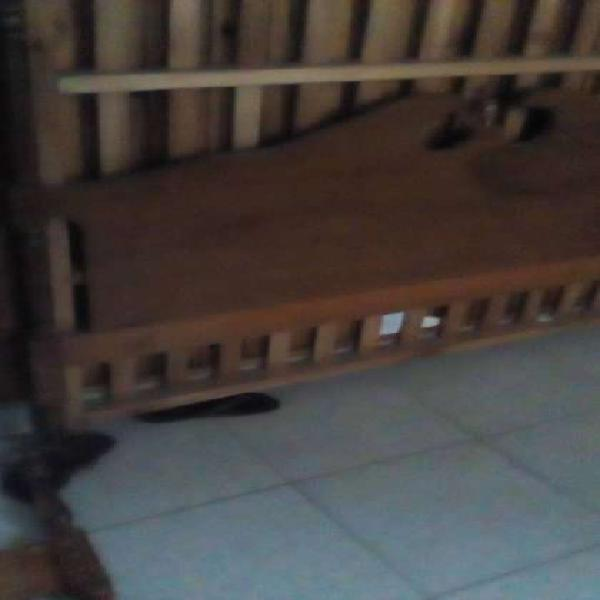 juego de dormitorio 2 meses luz comoda cama dos plaza con
