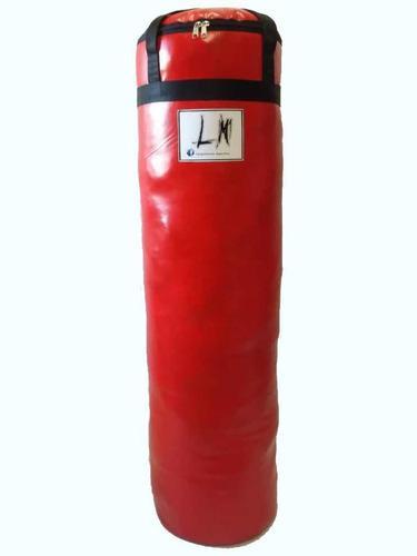 Bolsa De Boxeo Con Relleno 1,1m X 30cm De Diámetro.