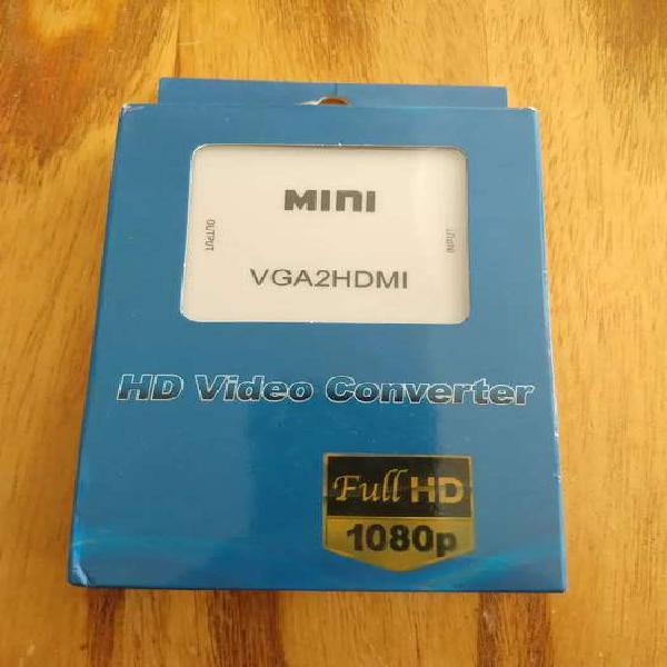 Conversor de VGA a HDMI FULL HD (NUEVO)