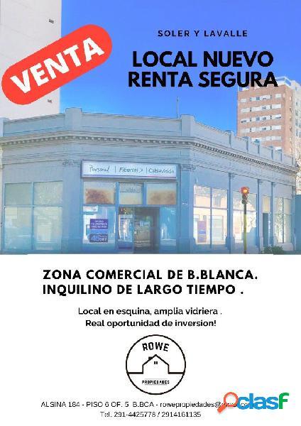LOCALES COMERCIALES EN ESQUINA, IDEAL INVERSORES, RENTA