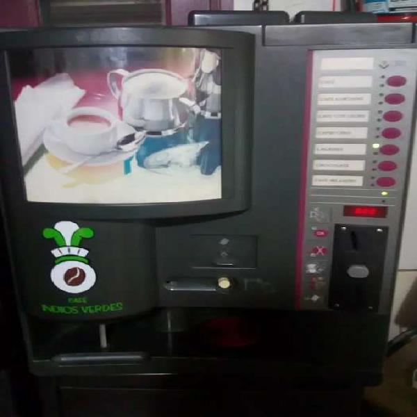 Maquina expendedora de café Saeco 7 P plus