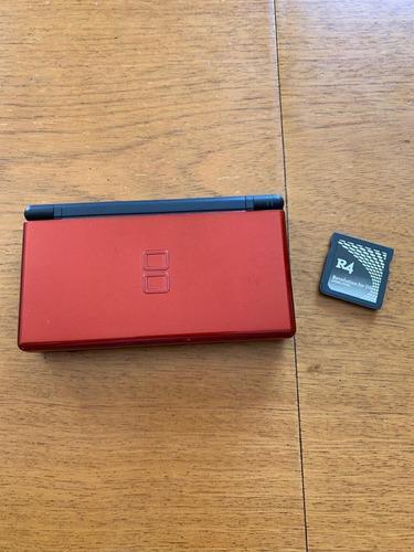 Nintendo Ds Lite Con Cargador Y R4