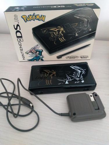 Nintendo Ds Lite Edicion Limitada Dialga Palkia - Pokemon