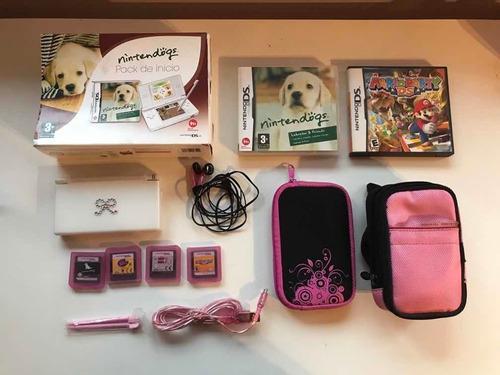 Nintendo Ds Lite Original En Caja Set Completo