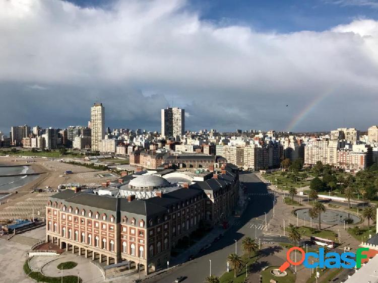 San Martín y Buenos Aires Departamento 1 ambiente con vista