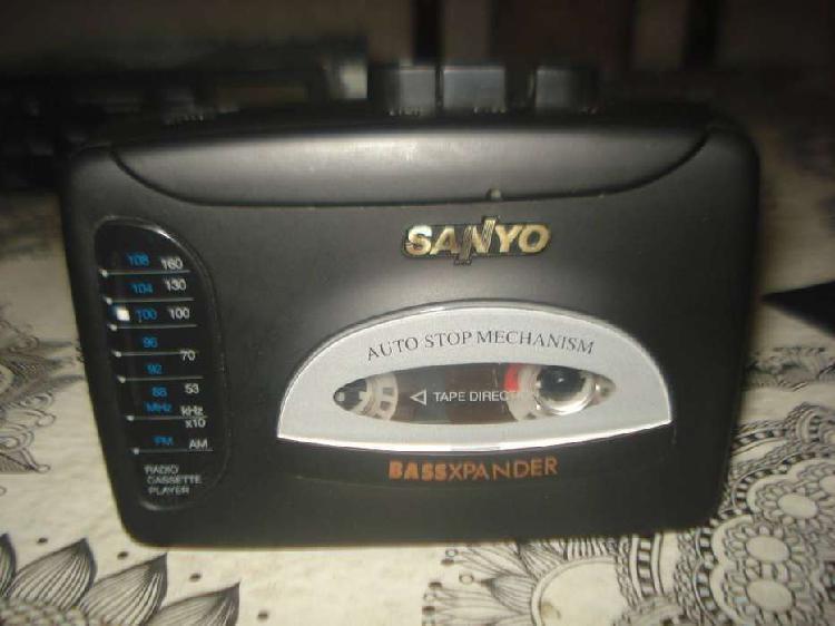 Walkman Sanyo Mgr 715 C/radios Am/fm Excelente No Envio