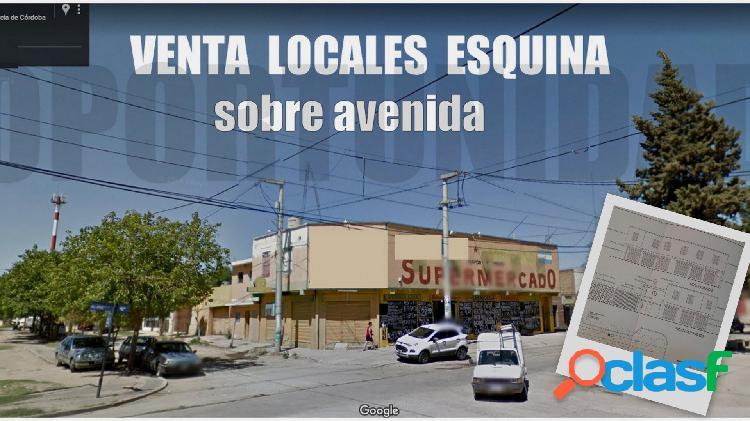 venta LOCAL 790M2 y 630 m2 TERRENO ESQUINA 2 PLANTAS EN