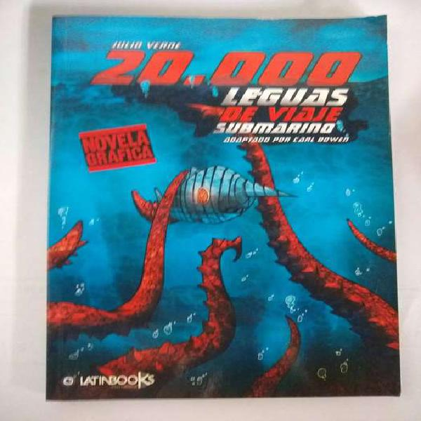 20000 leguas de viajes submarino (Novela Grafica)