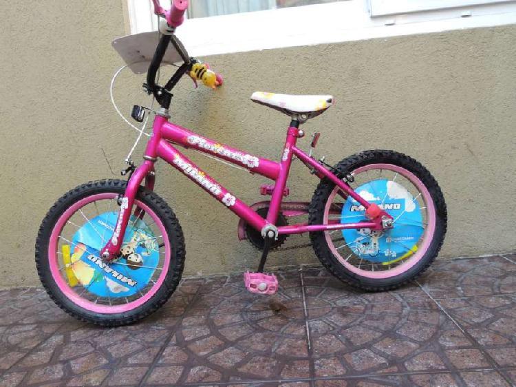 Bicicleta rodado 16 impecable estado