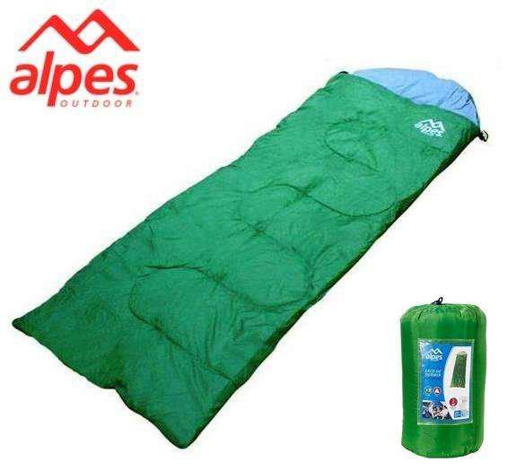 Bolsa De Dormir Alpes Envelope Pro 300gr/m² 100% Algodón