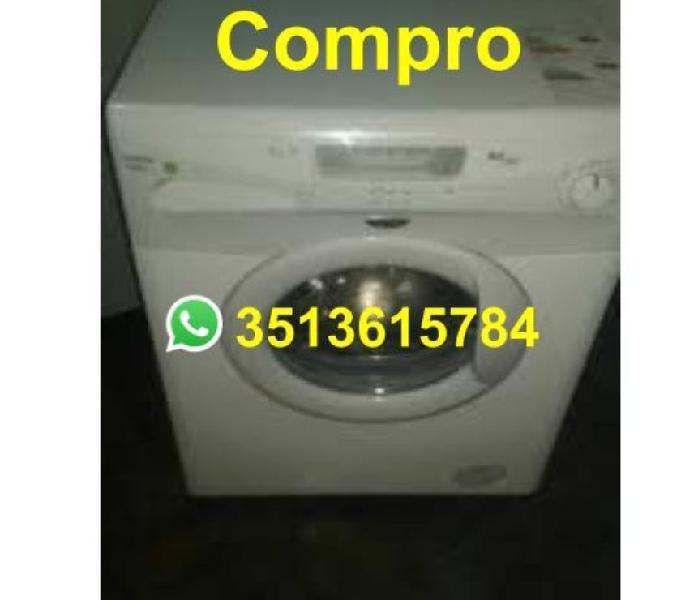 COMPRO LAVARROPAS AUTOMATICOS