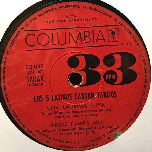 EP de Los 5 Latinos año 1964