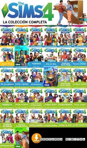 Los Sims 4 Juego Base + Todas Las Expansiones | Español