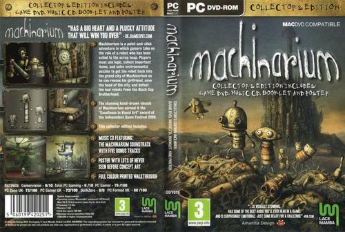 Machinarium (juego Digital) + Juego De Regalo