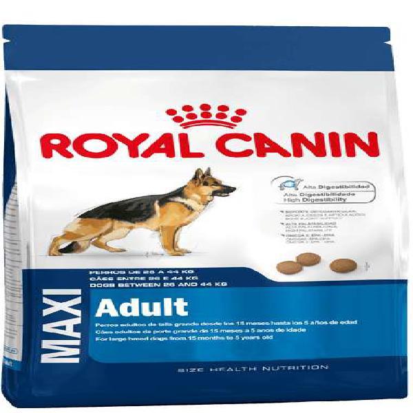 Royal canin maxi adulto x 15kg $3560