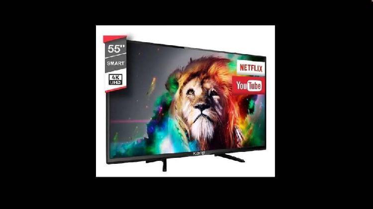 "Smart Tv Led 55"" Kanjihome 4k Uhd"