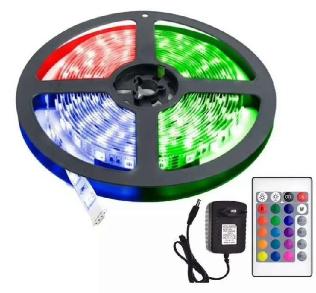 Tira de led exterior/interior RGB 5 mts -