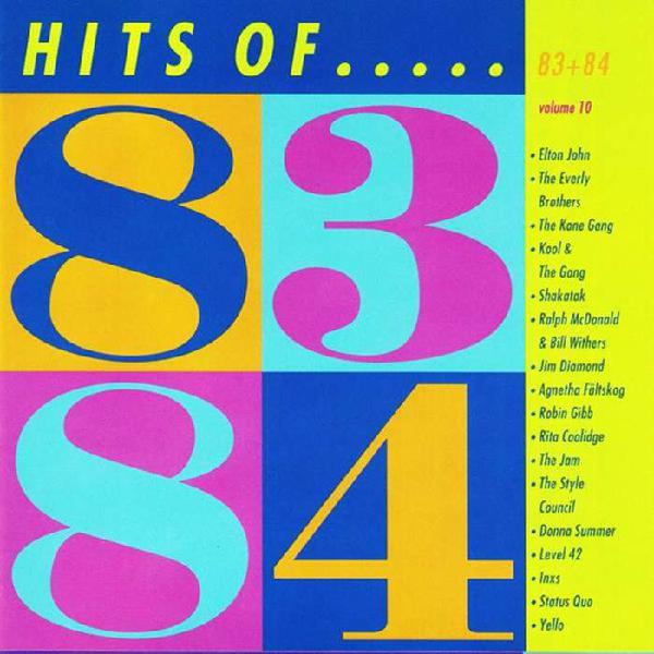CD de intérpretes varios Hits of 83 and 84 volumen 10 año