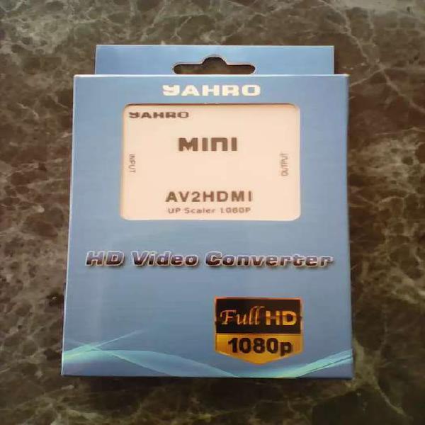Conversor de RCA (AV) a HDMI