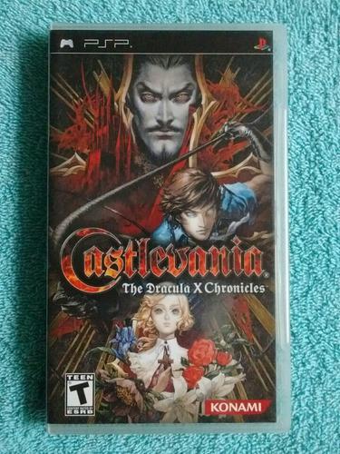 Juegos Psp Castlevania Symphony Of The Night (Dracula X)