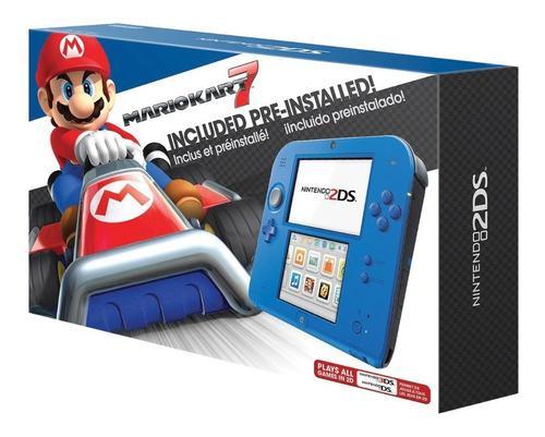 Nintendo 2ds Nueva Con 8 Juegos A Eleccion(ver Descripcion)