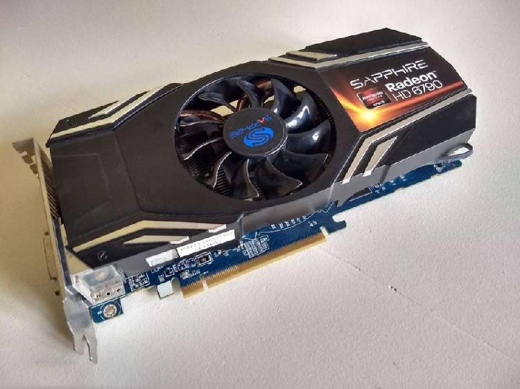 Placa de video Sapphire Radeon HD 6790