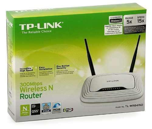 Router Tp Link Tl 841N dos Antenas /300Mbps