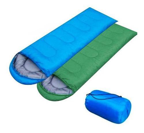 Bolsa De Dormir Impermeable Camping + Bolso De Transporte