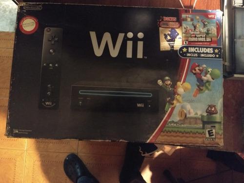 Nintendo Wii Completa En Caja Con Juego Físico
