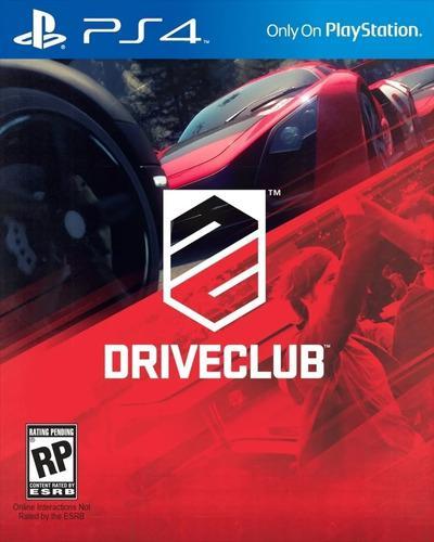 Driveclub Juego Físico Playstation 4 Ps4 Nuevo!!!