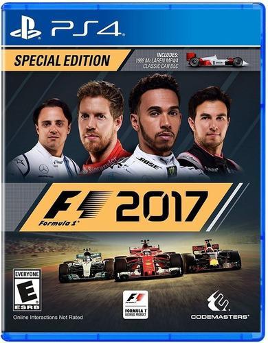 Formula 1 2017 Edicion Especial Ps4 Juego Nuevo Fisico.