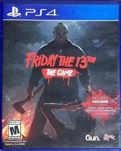 Juego Friday The 13 The Game Ps4 Fisico Nuevo Original