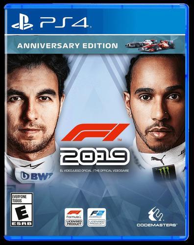 Juego Playstation 4 F1 2019 Aniversario Formula Ps4 2019