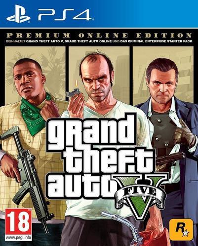 Juego Ps4 Grand Theft Auto V Premium Edition Gtaps4