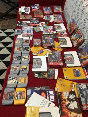 Lote De 26 Juegos Nintendo 64 Originales Caja Y Manual Ntdf