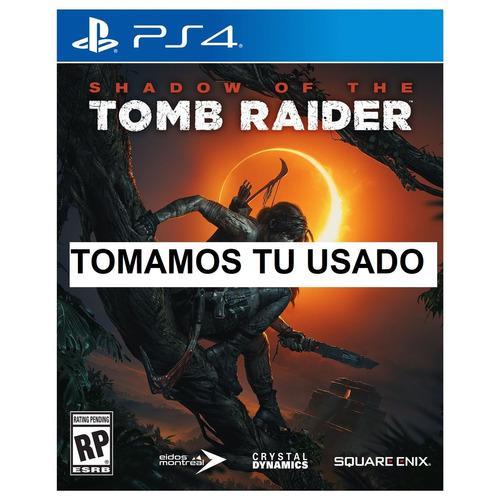 Shadow Of The Tomb Raider Ps4 Juego Fisico Sellado Español