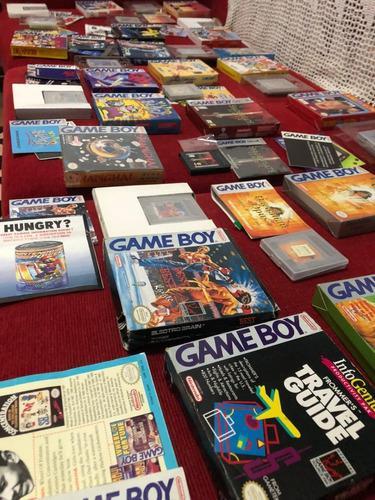 Vendo Lote De 20 Juegos Completos Para Gameboy Caja Y Manual