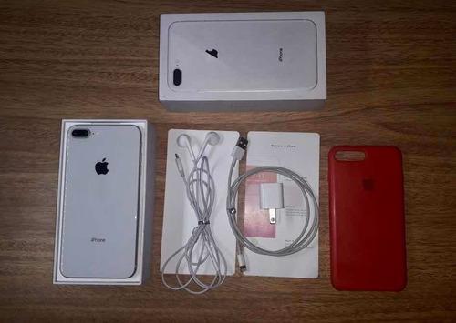 iPhone 8 Plus 64 Gb En Caja Con Accesorios Originales