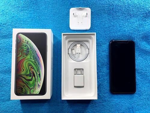 iPhone XS Max 64gb Accesorios Caja Y Funda Como Nuevo