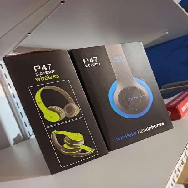 Auriculares P47 Bluetooth