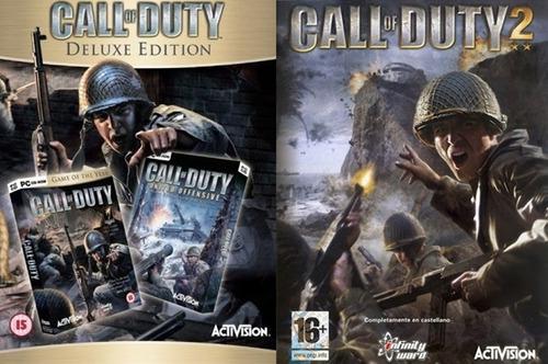 Call Of Duty 1 + 2 (2 Juegos) Pc Digital Español Combo