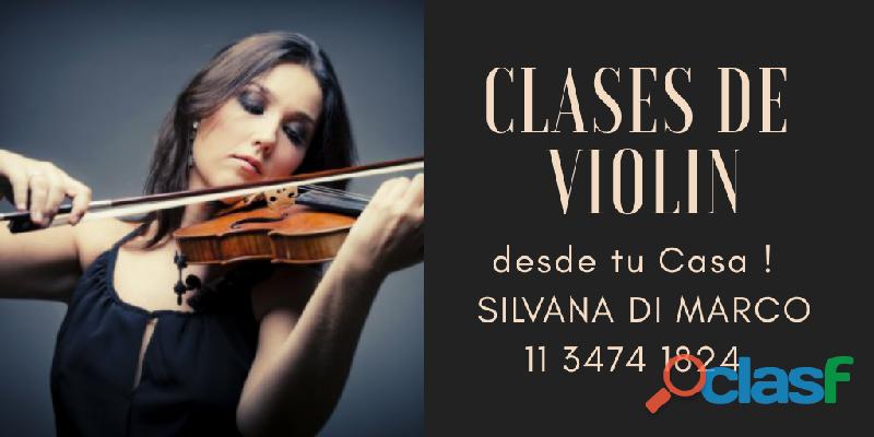Clases de Violín Argentina