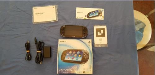 Consola Sony Ps Vita Original En Caja (es En Efectivo!)