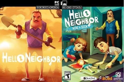 Hello Neighbor + Hide And Seek (2 Juegos) Combo Pc Digital